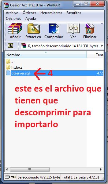 [Tutorial] Como instalar Gesior Acc Tfs 1.0 Con imagenes Paso a Paso 31273oy