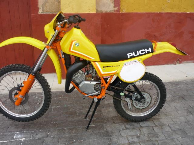 Puch Cobra M-82 TT Agua  y Réplica Coronil - Motos De Tote 33diceg