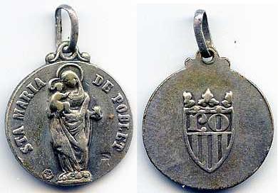 Sta. Maria de Poblet / Escudo de Poblet S-XX  (MAM) 33f6dq8