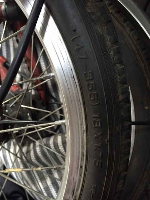 "Help kit eléctrico delantero plegable Monty F18 rueda 18 x 1.75"" 33y7534"