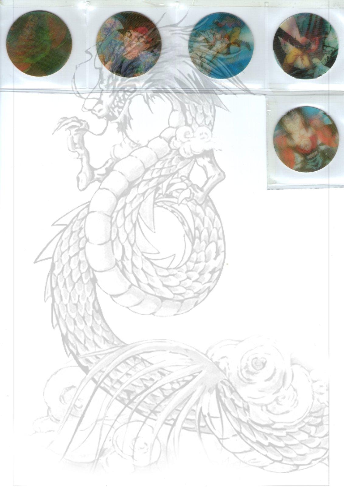 Tazos Dragon Ball Animados de SABRITAS 343ke2u