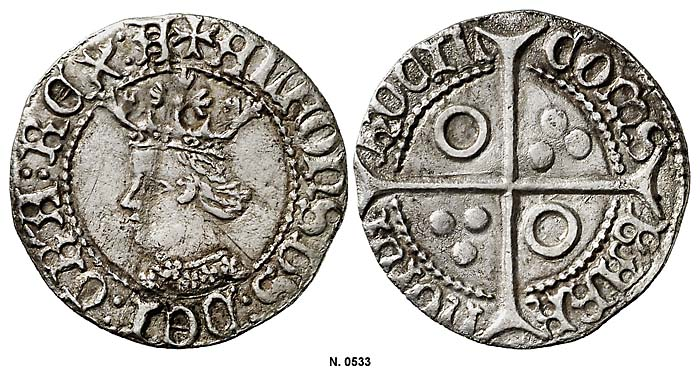 Croat de Alfonso V (1416-1458) de Perpiñán [Ex Colección Ramon Muntaner] 4looyu