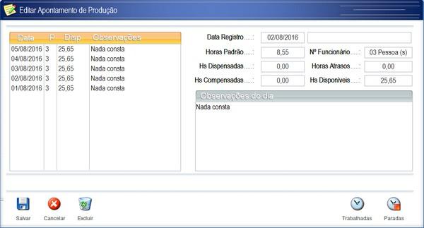 Controle de Produção para Empresa de Comunicação Visual. 4q4qkx