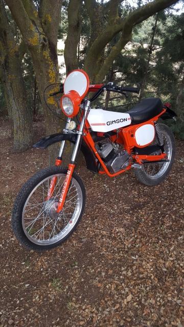 Gimson Enduro '87 2ª Serie - Restauración 4t83gp