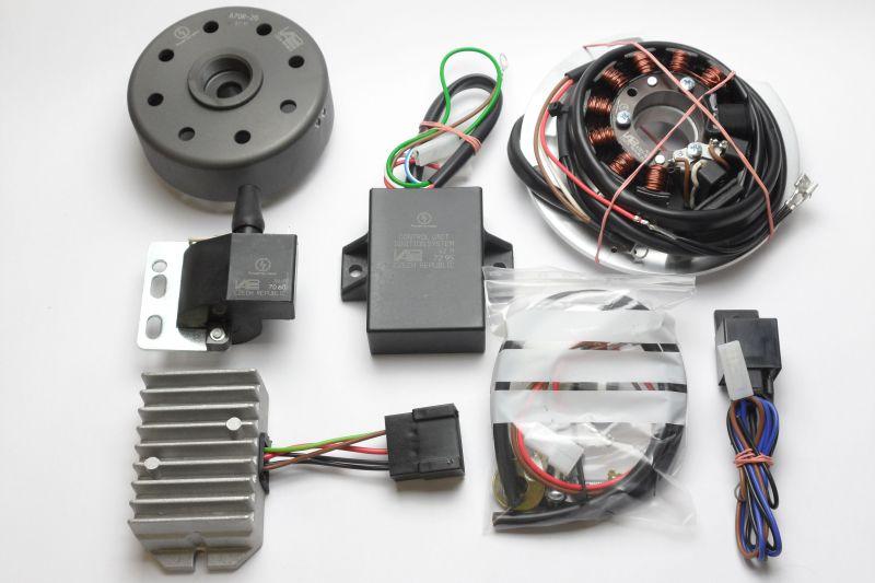 Regulador, dinamo y disyuntor de la NSU  5kg8dj