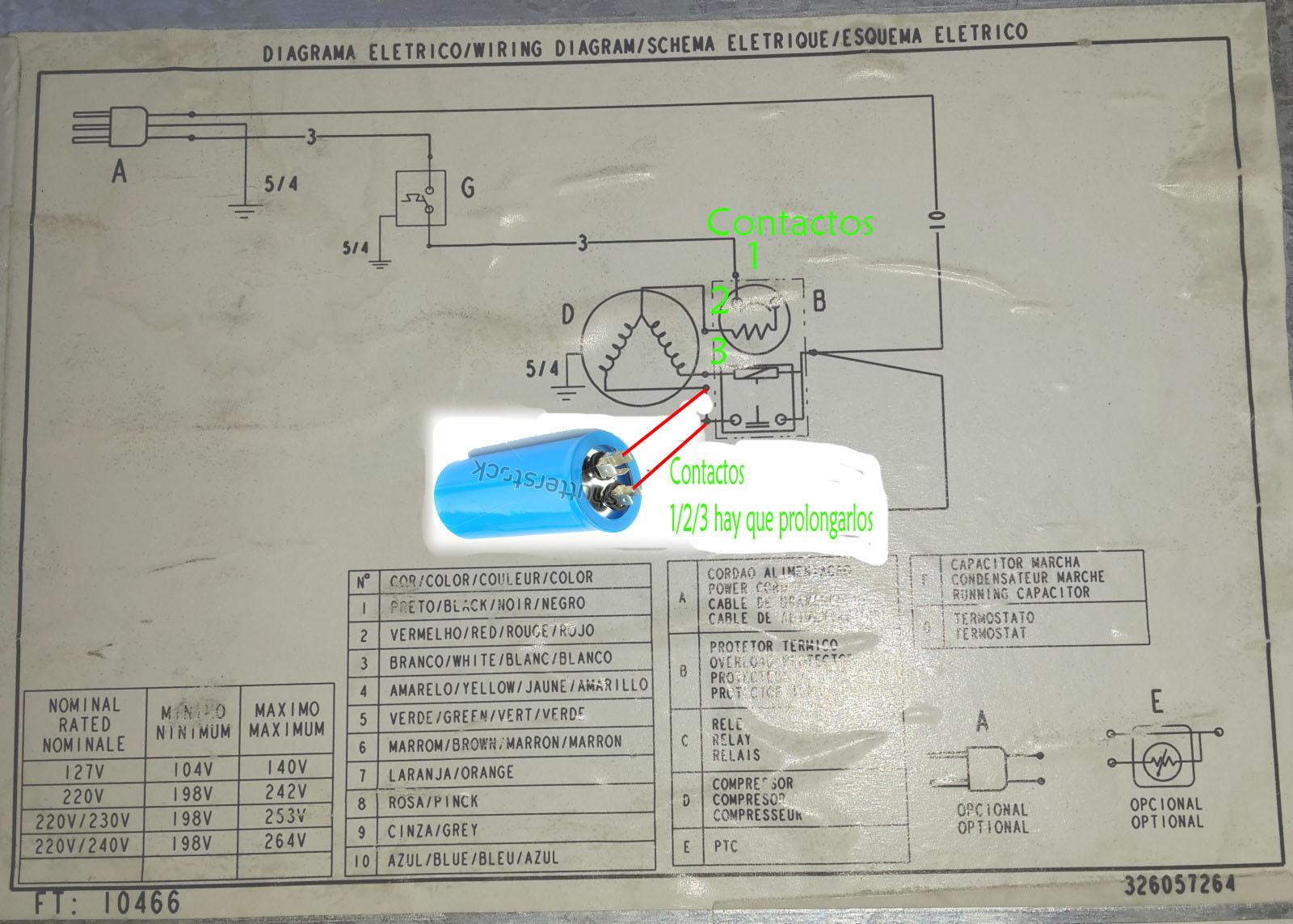 Heladera con capacitor solucionado 6ejdp5