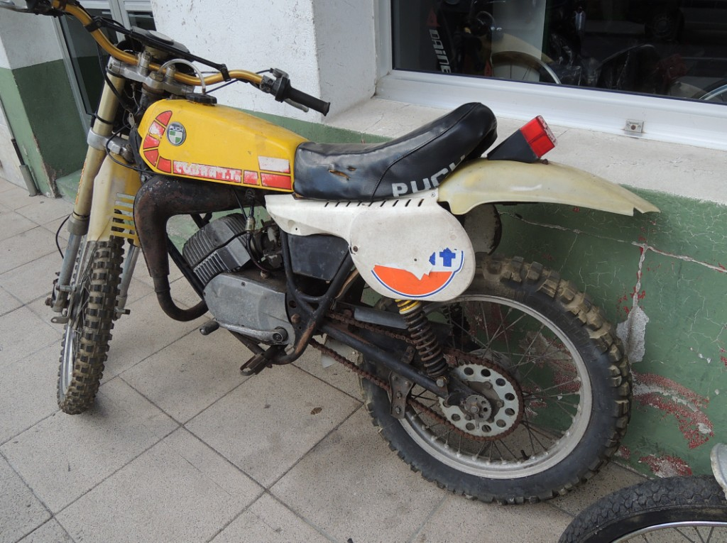 Puch Cobra TT - Exhausted Edition 6sdit4