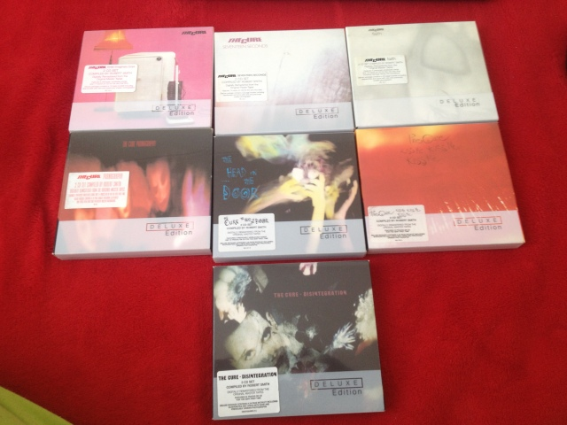 CDS THE CURE [DELUXE EDITION] y otros cds de the cure 901zzt