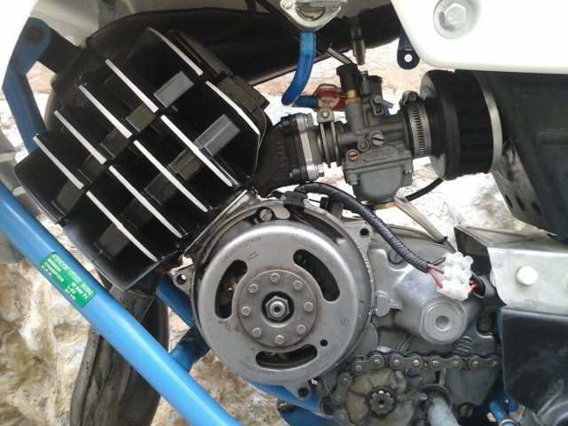 Mejorando cilindro Puch 50 4V 99jgd2