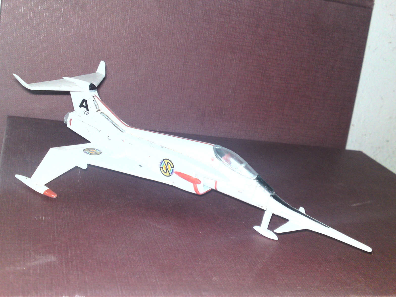 Captain Scarlet's Angel Interceptor 1/72 Airfix 9anztl