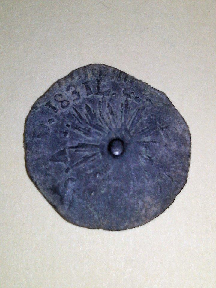 Cuartilla del Estado de Sonora de 1831 :) 9tmo7o