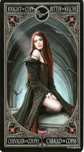 Готическое Таро Анны Стокс /Anne Stokes Gothic Tarot   (скан карт) Ae15rn