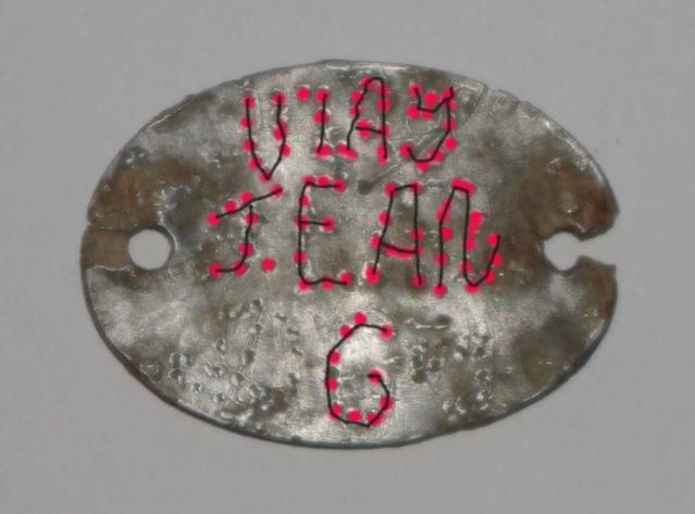 Besoin d'aide pour déchiffrer cette plaque militaire Apkb4j