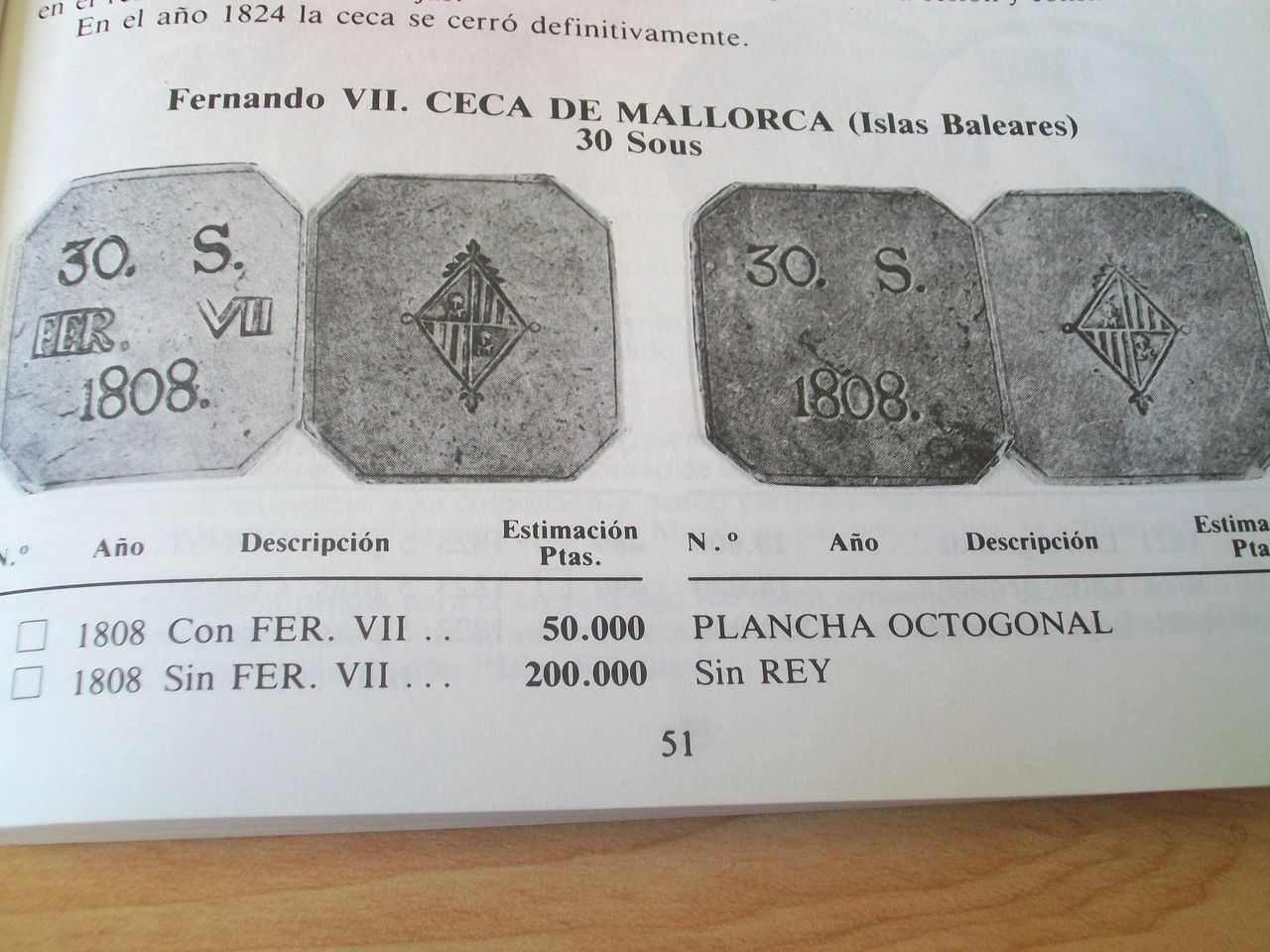Sobre la variante 30 SOUS octogonal sin la leyenda FER. VII B4glg0