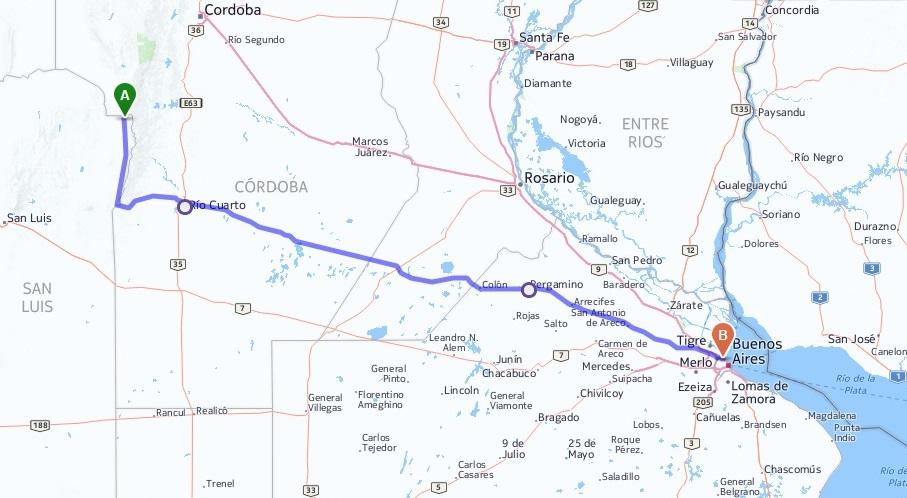 BS. AS. - CAPILLA DEL MONTE - P.N. TALAMPAYA - P.N. ISCHIGUALASTO (Valle de la Luna)  - MERLO - BS. AS. E0g7tk