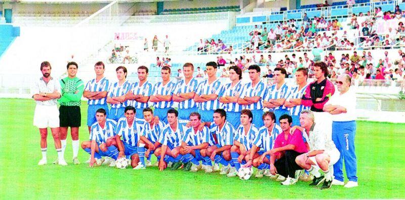 Plantillas del Málaga C.F. desde su constitución como S.A.D. E97xft