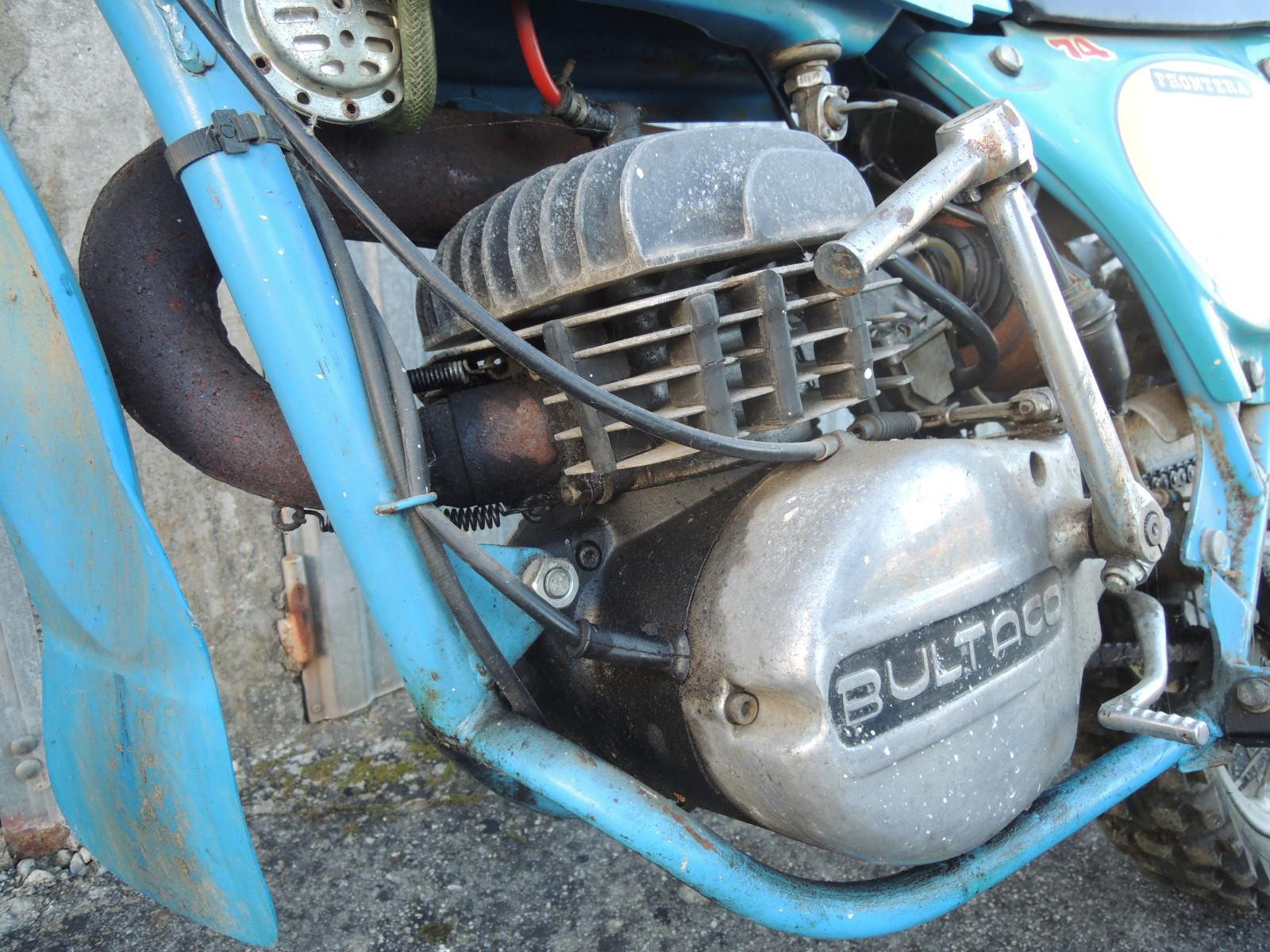 Bultaco Frontera - La Fronterita De Rafa Esn31t