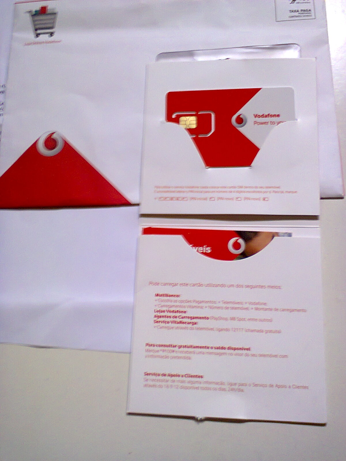 Amostras Vodafone - Cartão Extreme Sem mensalidade [Recebido] F39f6a