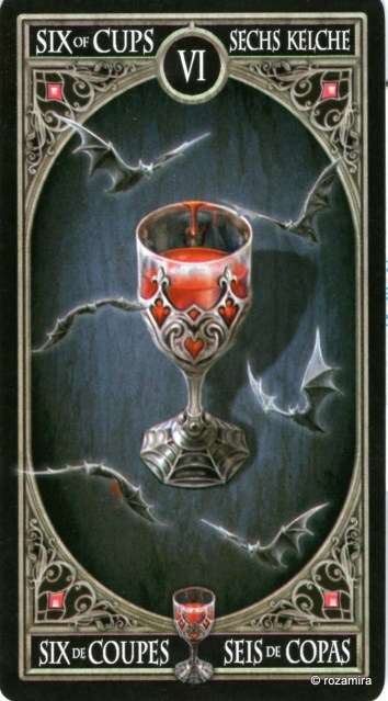 Готическое Таро Анны Стокс /Anne Stokes Gothic Tarot   (скан карт) Iwkleo