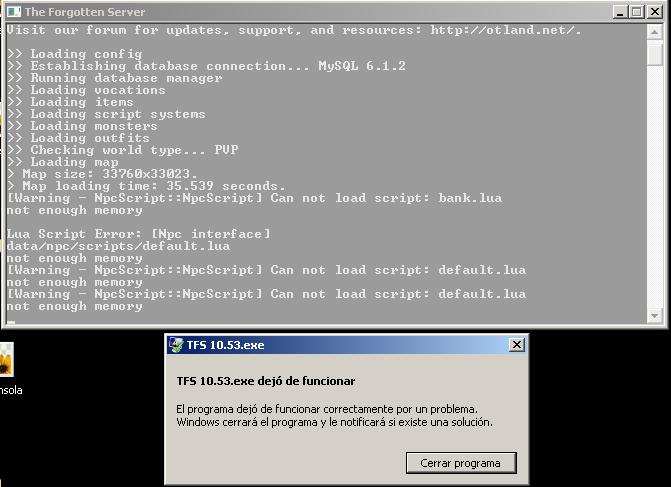 Se cierra la consola  sin dar ningun error  Iwr6m8