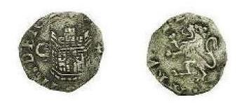 2 maravedís de Felipe II , Cuenca. Iylgnm