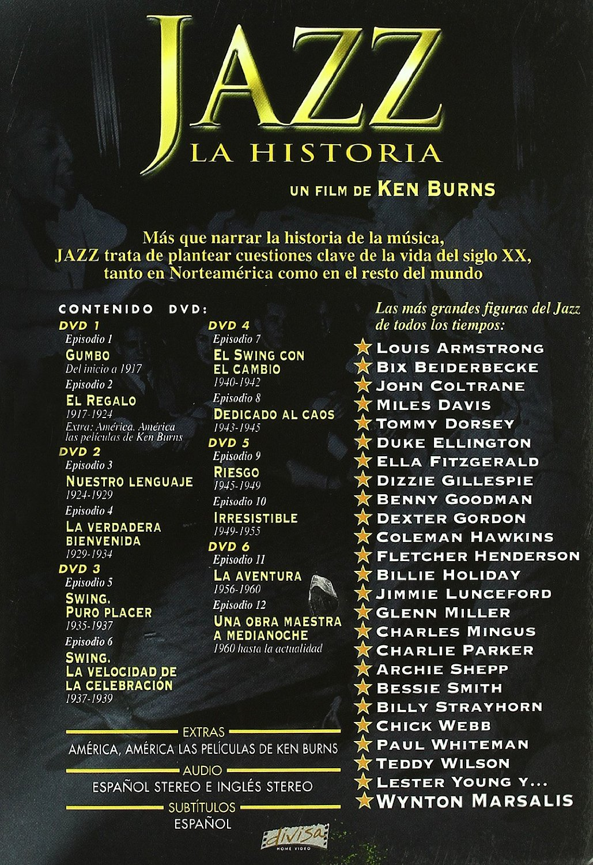 Jazz, La Historia: Un film de Ken Burns [DVD] K3lxkw