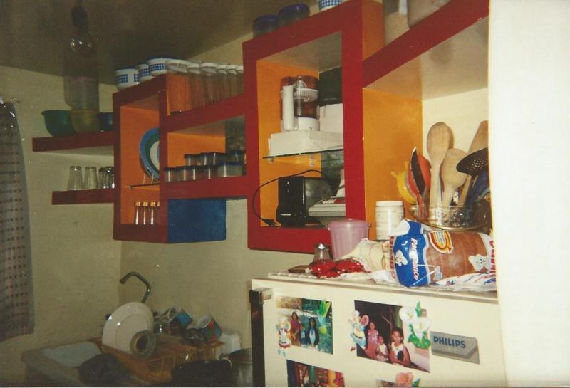 Mueble, gabinete y arcos, hechos con Tablaroca N48sw2