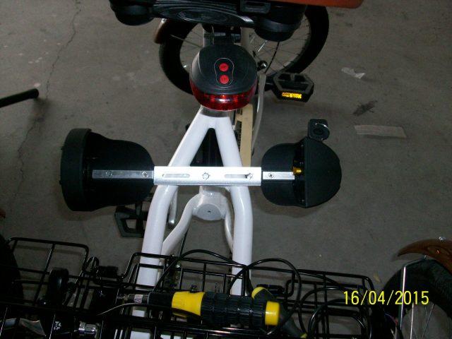Proceso electrificación triciclo Nb43dk