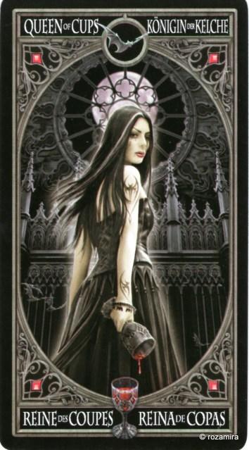 Готическое Таро Анны Стокс /Anne Stokes Gothic Tarot   (скан карт) Nco8m0