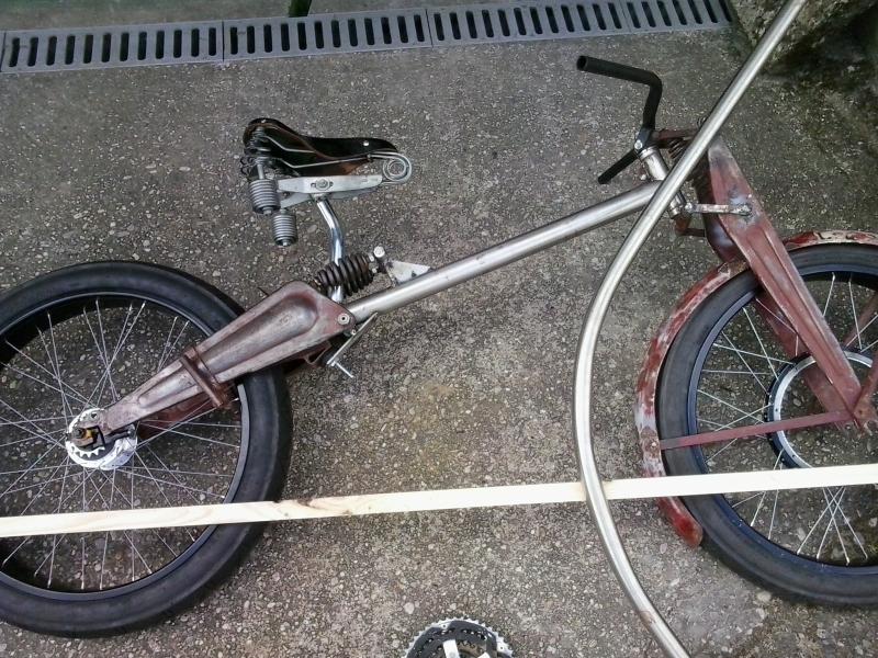 Bicicleta eléctrica a partir de moto Guzzi (+sidecar??) O55306