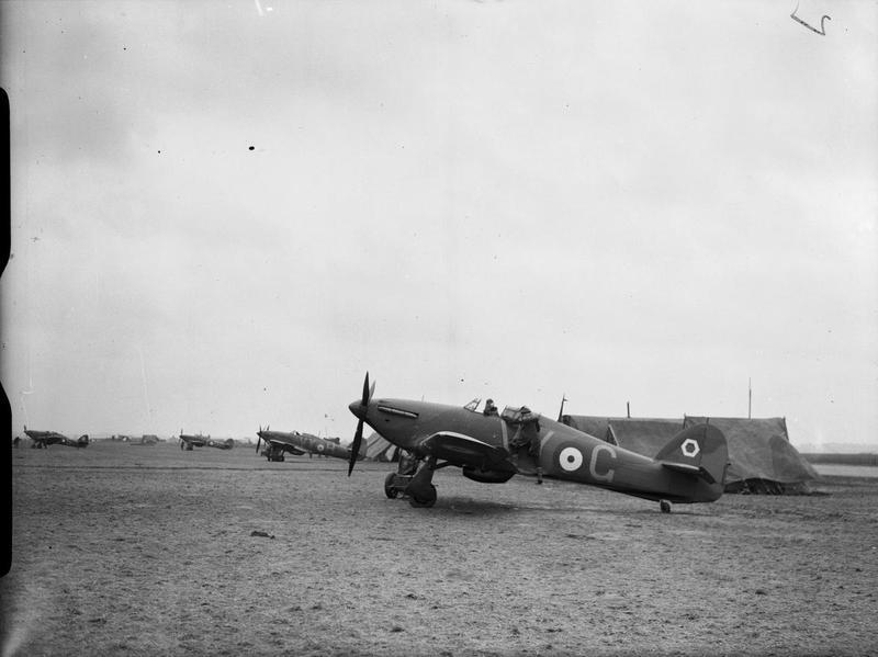 Hawker Hurricane MkI 1/72 airfix Os79et
