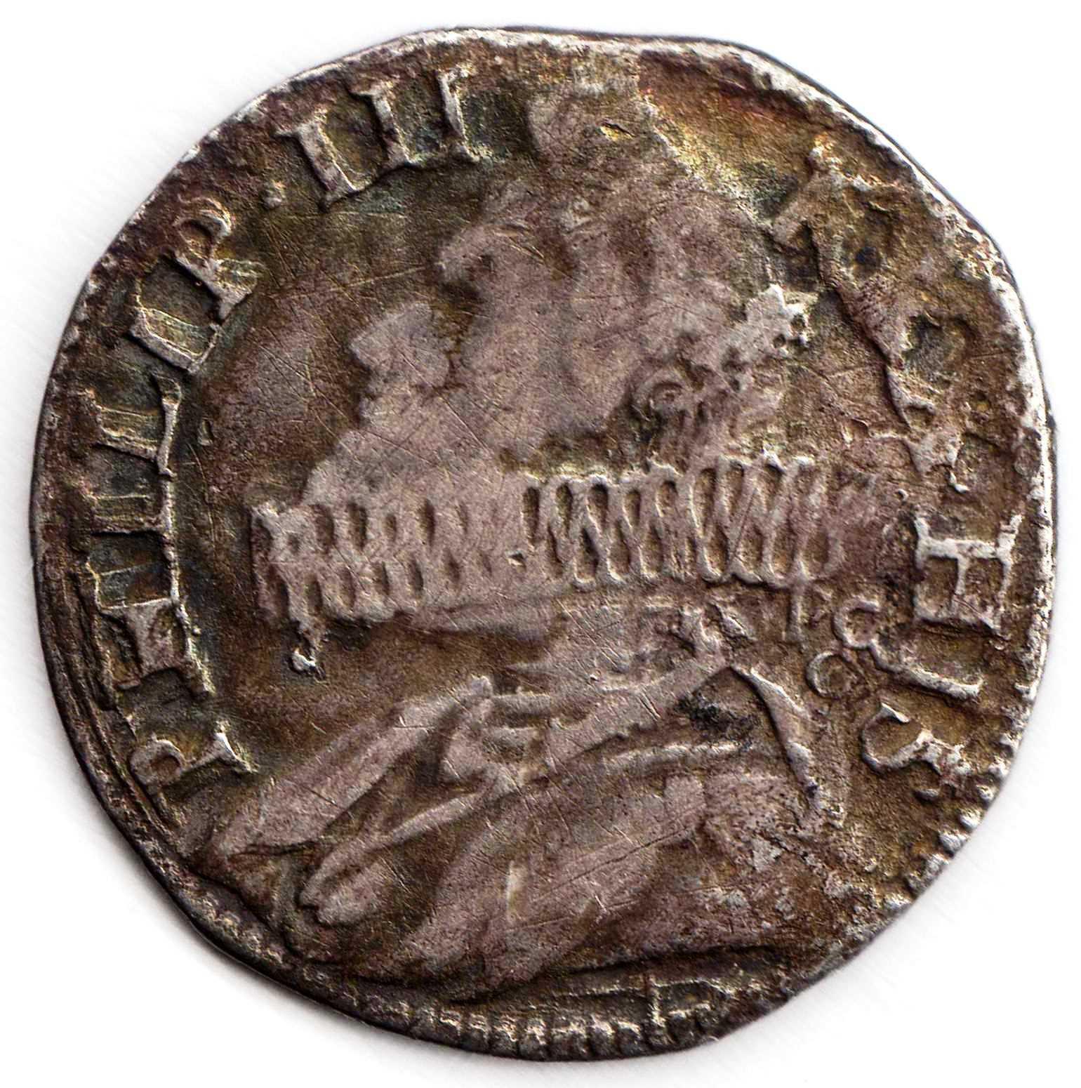 1619 FELIPE III - 15 GRANA DEL REINO DE NAPOLES Rau7hy