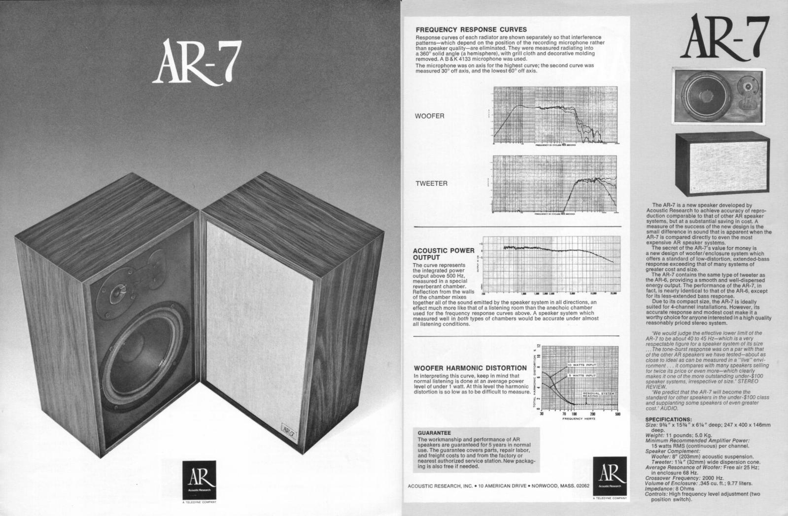 Acoustic Research Rlide8