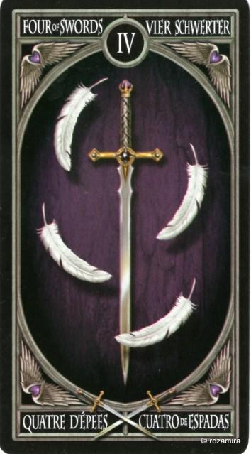 Готическое Таро Анны Стокс /Anne Stokes Gothic Tarot   (скан карт) S1t994