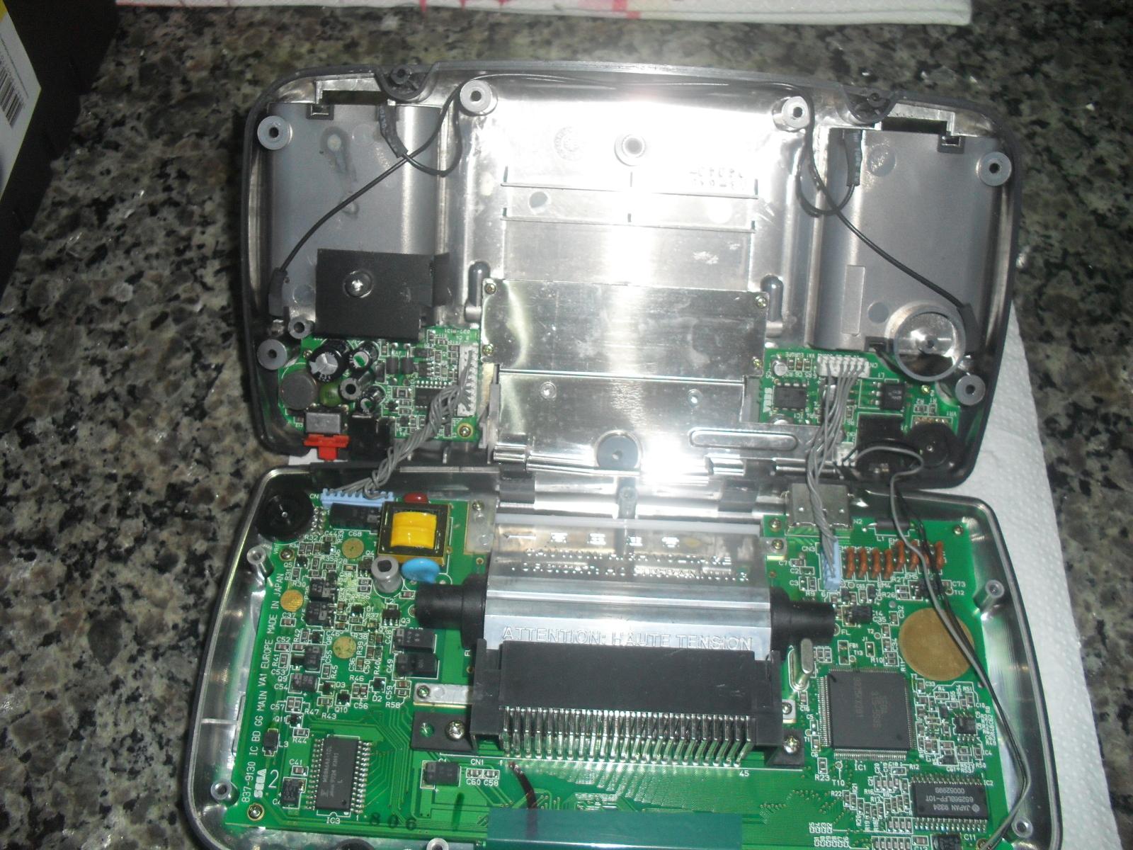 [GameGear] Tutorial de Reparação um Game Gear !!! T86m28