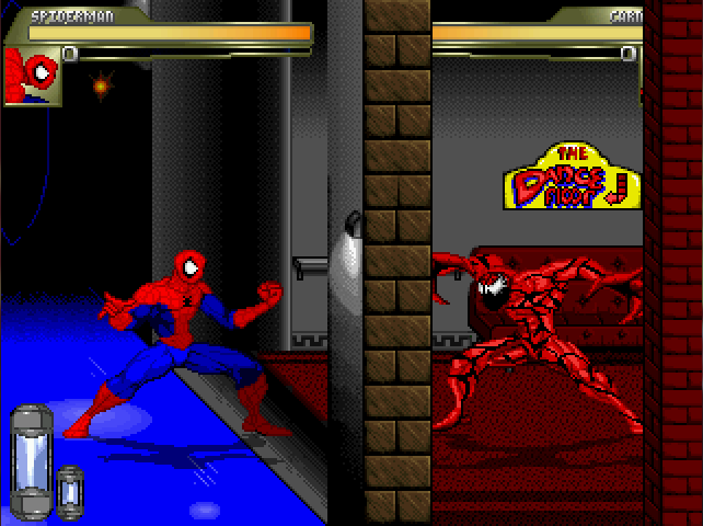 Spider-Man & Venom: Maximum Carnage Stages Uprw8