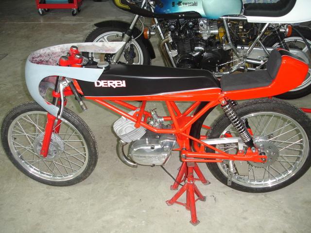 Equipo motor GILARDONI Derbi 4V Vi06ys