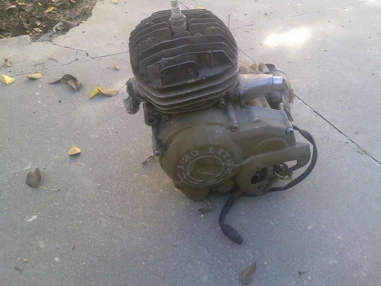 Identificar motor Gilera Vo4f1e