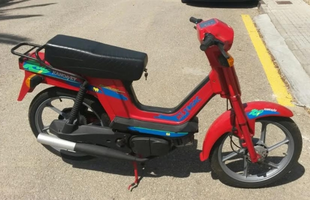 Buscamos moto, ciclomotor o scooter  de 50 c.c a 125 para Filmación de anuncio de TV.. En MALLORCA. Vqgxoo