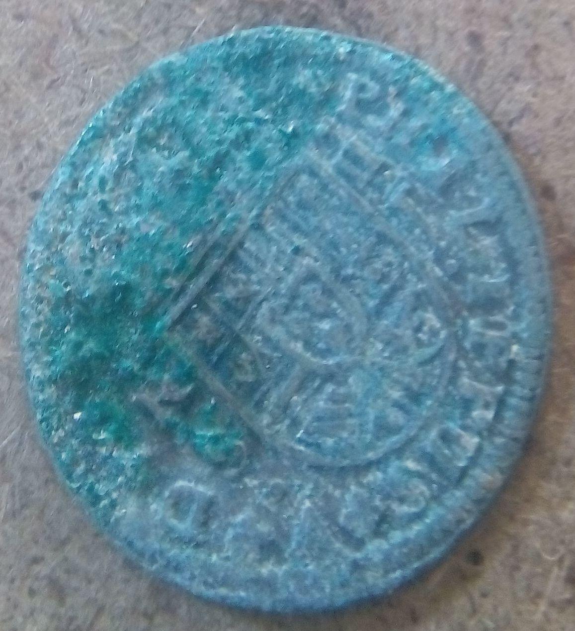 Ayuda a limpiar esta moneda de plata. W2hi4m