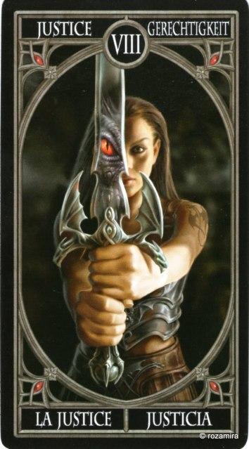 Готическое Таро Анны Стокс /Anne Stokes Gothic Tarot   (скан карт) X1le77