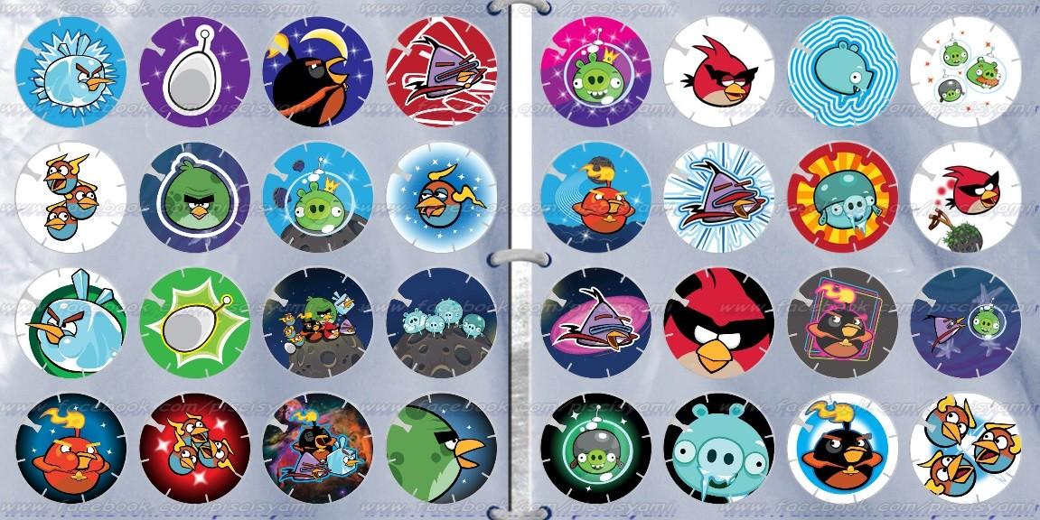 Vuela Tazos de Angry Birds Space Xm5ro2