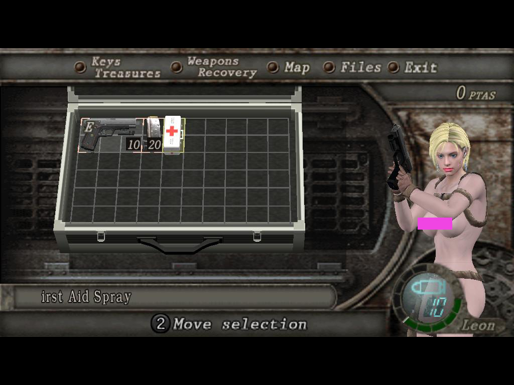 18+ Police Jill Nude to Leon (Main Game) Zv4msl
