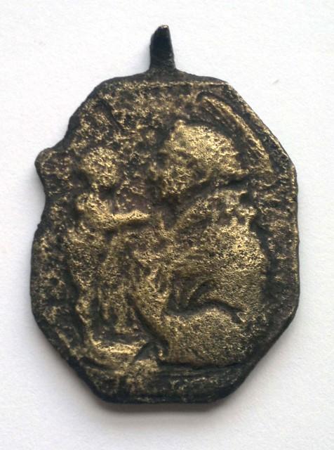 Cristo de Medinacelli / San Antonio de Padua S-XVIII Zx5jxk