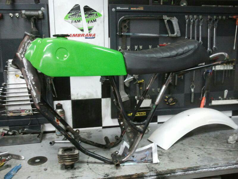 Puch Cobra M-82 TT Agua  y Réplica Coronil - Motos De Tote 10hlme0