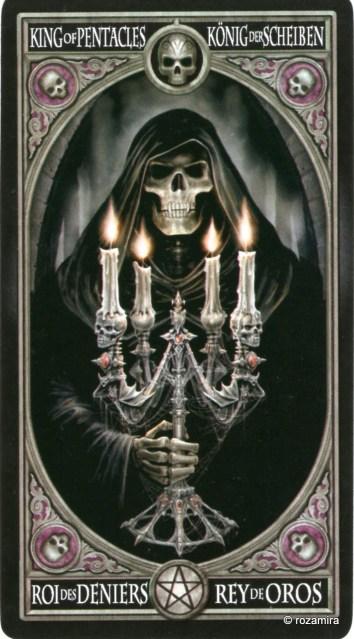 Готическое Таро Анны Стокс /Anne Stokes Gothic Tarot   (скан карт) 116i1rc