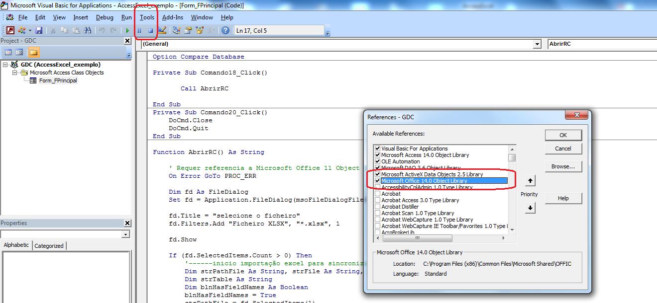 [Resolvido]Atualização automática na importação Access Excel 1490aw0