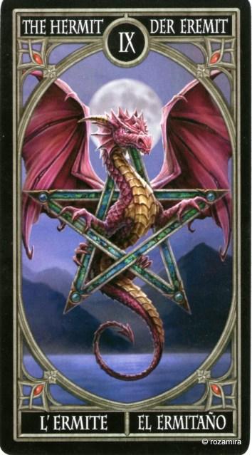 Готическое Таро Анны Стокс /Anne Stokes Gothic Tarot   (скан карт) 14uw01j
