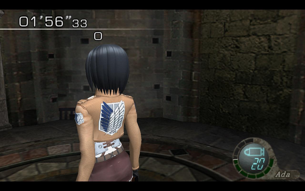 [OFFLINE] Mod Mikasa Ackerman 15cylnn