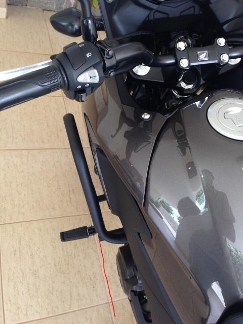 Protetor motor Chapam com pedaleiras 15gpn4o